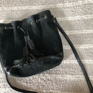 Black ASOS Bucket Bag